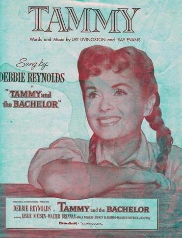 "Originally sung by Debbie Reynolds in 1957, ""Tammy"" serves as a reliable lullaby."
