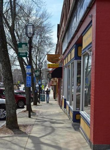 Dover S Central Ave Is Lined With Restaurants And Small Businesses