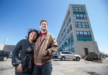 After losing out in other bidding wars, Bonnie Le and Eric Woods offered $21,000 above asking price to win a Brickbottom loft in Somerville.