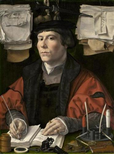 Portrait of a Merchant, c. 1530, by Jan Gossaert.