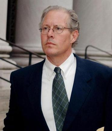 E. Forbes Smiley III leaving federal court in 2006.