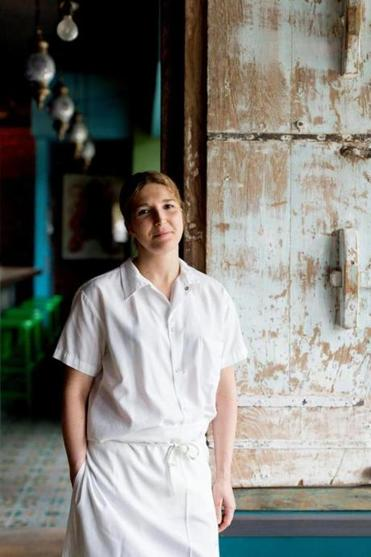 Cassie Piuma, chef and co-owner of Sarma in Somerville