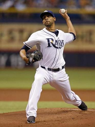 David Price started for the Rays on Wednesday in Tampa.