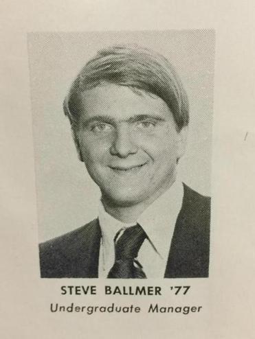 steve ballmer has managed quite well since graduation the boston globe