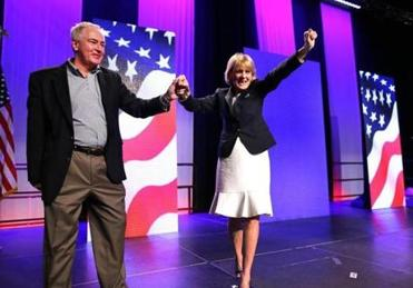 Martha Coakley also made the primary ballot, winning 23.3 percent.