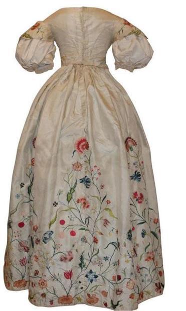 Bostonian Society Displays Colonial Wedding Dress