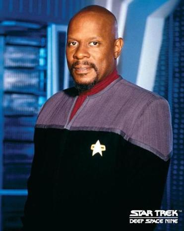 "Avery Brooks, star of ""Deep Space Nine."""