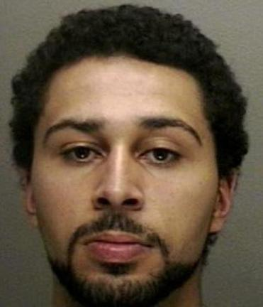 Joshua Gonsalves, 23, was arrested Tuesday evening.