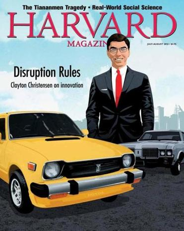 "The summer issue of Harvard Magazine hailed Clay Christensen as a ""disruptive genius"" — a case of unintentionally amusing timing."