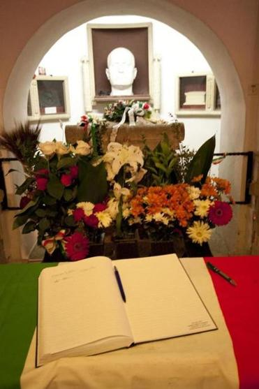 Mussolini's burial crypt in the town of Predappio has become a pilgrimage site for modern-day Fascists.