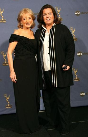 "FILE - JULY 08: According to reports July 8, 2014 Rosie O'Donnell will be returning to ABC's ""The View"" as a co-host. HOLLYWOOD , CA - APRIL 28: Future co-hosts of ""The View"" Barbara Walters and Rosie O'Donnell pose in the press room at the 33rd Annual Daytime Emmy Awards held at the Kodak Theatre on April 28, 2006 in Hollywood, California. (Photo by Frederick M. Brown/Getty Images)"