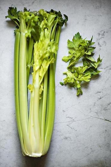 TIP: If you like the flavor of celery, use the inner leaves as you would any fresh, leafy herb in lots of recipes (here, it flavors classic Ranch Dressing).
