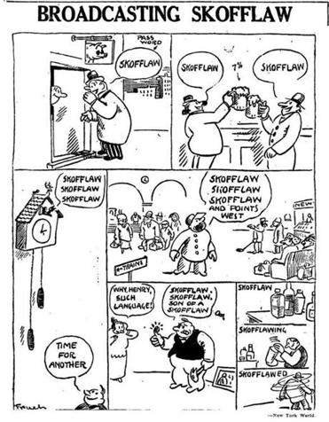 A cartoon from January 1924 shows people trying out the winner of Delcevare King's contest (with alternate spelling).