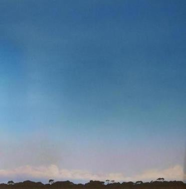 "Adin Murray's ""Rayleigh Scattering,"" on exhibit at the Jane Deering Gallery."