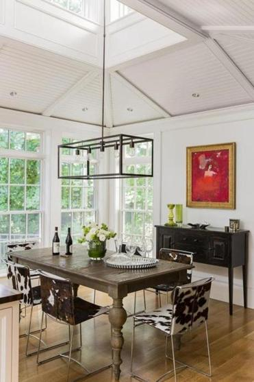A hingham home gets a true cooks kitchen the boston globe - Kitchen and dining area design crossword ...