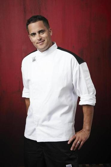 td gardens premium club executive suites chef brian santos - Hells Kitchen Contestants