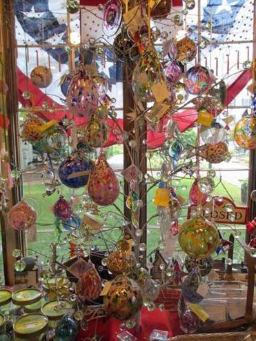 10tank - Any time of year, the Christmas Barn in Essex is jam-packed with holiday ornaments. (Diane Bair)