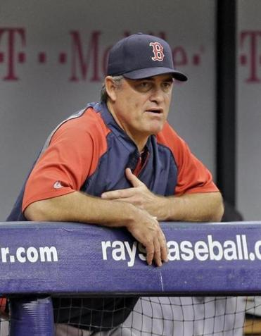 John Farrell has been puzzled by the Red Sox offense in 2014.