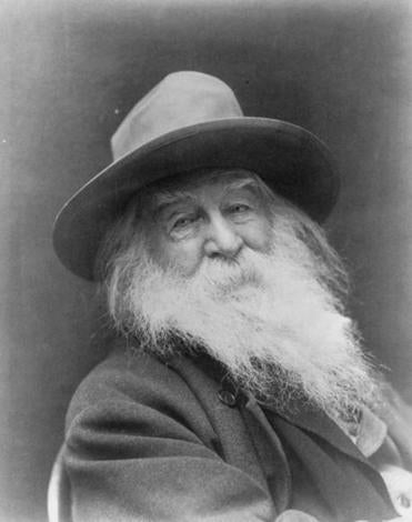 14NELitNews - Walt Whitman. (Library of Congress)