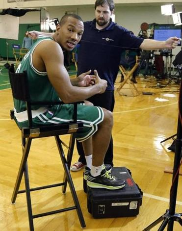 From the Celtics' point of view, Avery Bradley's looks the best when playing shooting guard. (Elise Amendola/Associated Press)