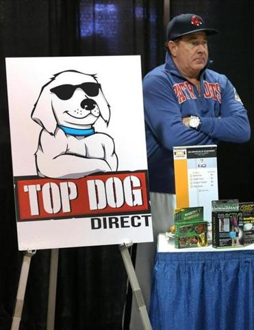 Top Dog Direct founder Bill McAlister has mined some promising product pitches. Below, local inventors awaited the opportunity to present their ideas.