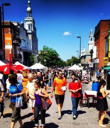 On Mont-Royal Avenue in Montreal last year, students turned out for school shopping.