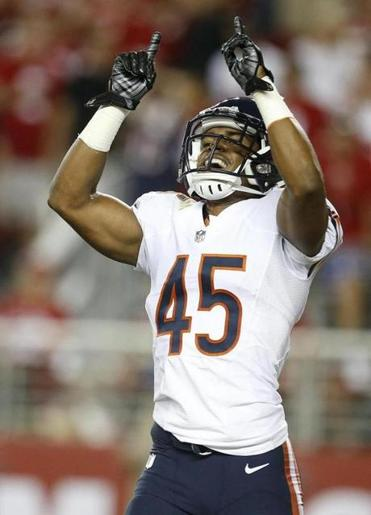 Bears safety Brock Vereen has plans to meet up with brother Shane on Sunday.