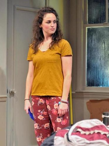 Alison McCartan as Daphna. Alison McCartan in the SpeakEasy Stage production of BAD JEWS. Photo by Craig Bailey/Perspective Photo. 28BAD JEWS