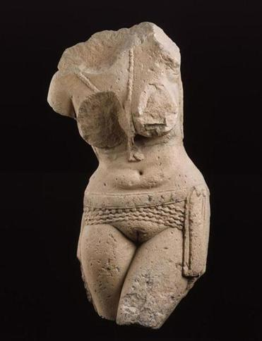 Torso Of A Fertility Goddess Yakshi The Boston Globe