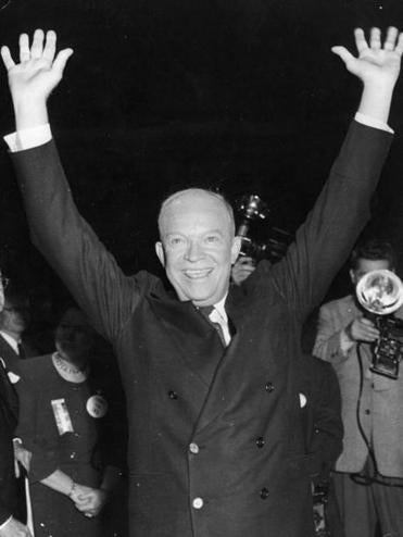 Dwight D. Eisenhower served as president from 1953 to 1961.