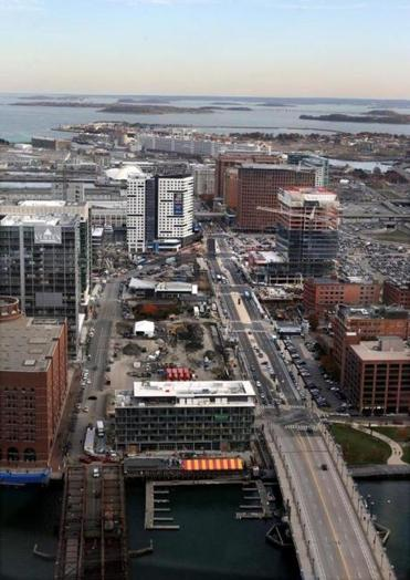 Seaport Boulevard is a product of earlier city planners who were unsure of what the area should become.