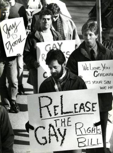 Gay advocates had to combat scare tactics from their opponents.