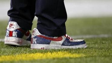 "A Robert Kraft ""owner's model"" Nike goes on sale Monday. Captains of industry have taken note, Kraft said."