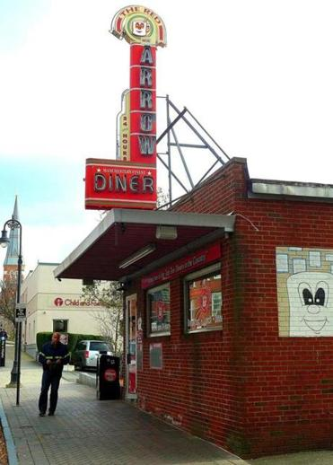 The Red Arrow Diner.