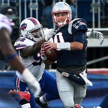 Image result for pats-bills garoppolo