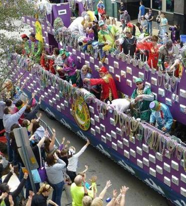 Mardi Gras celebration in Mobile