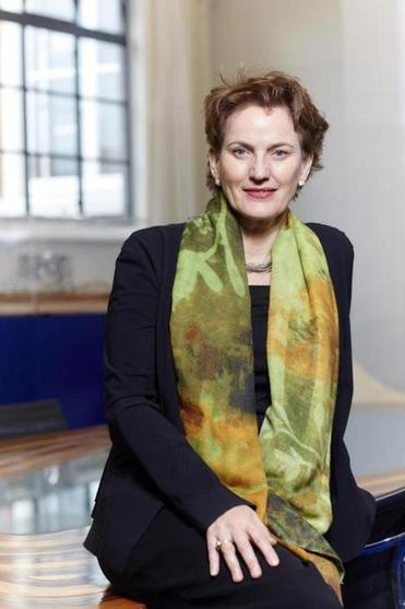"Architect Francine Houben (pictured) says of the Bolling Municipal Building: ""It will be a catalyst for the neighborhood."""