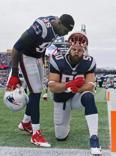 Rob Ninkovich's consistent play has earned the respect of his teammates, such as fellow end Chandler Jones.