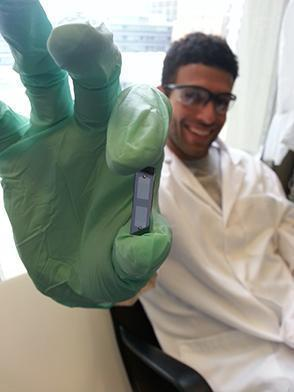 Armon Sharei cofounded SQZ after working on cell research in a lab as a doctoral student.