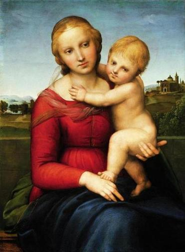 "Raphael's ""The Small Cowper Madonna."""