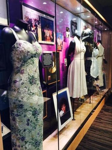"Items showcased  (above) from  ""Donna Summer: Four Seasons of Love"" at the Grammy Museum in Los Angeles."