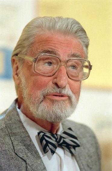 Theodor Seuss Geisel, widely known as Dr. Seuss. He died in 1991.