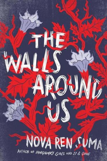 book jacket: THE WALLS AROUND US, by Nova Ren Suma.