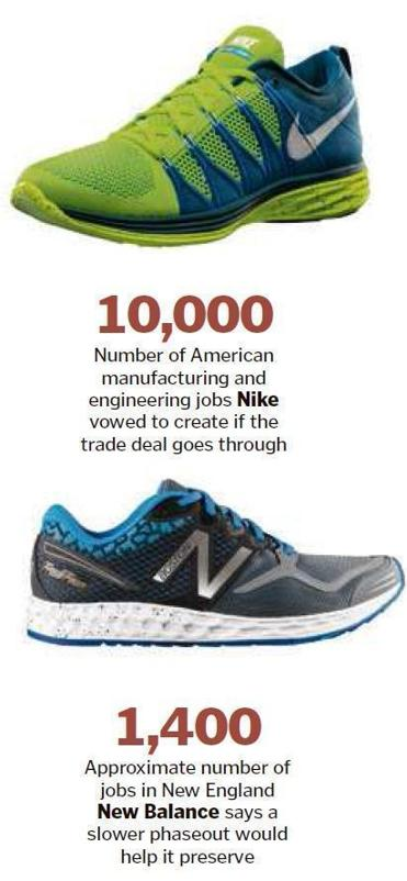 5bdcaf12dd4d New Balance could beat back Nike for partial win on Pacific trade deal -  The Boston Globe