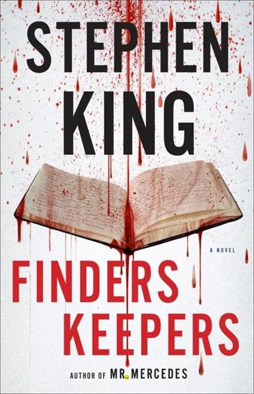 "19book ""Finders Keepers"" by Stephen King."