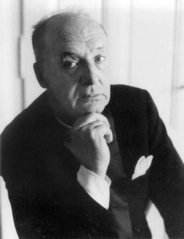 Author Vladimir Nabokov in an undated photo.