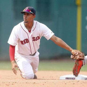 Xander Bogaerts (above) hopes fan voting puts him in the All-Star Game, where he'd meet up with teammate Brock Holt.