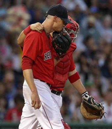 Injured Red Sox starter Clay Buchholz is signed only through the end of the season, with the team holding a $13 million option for 2016.