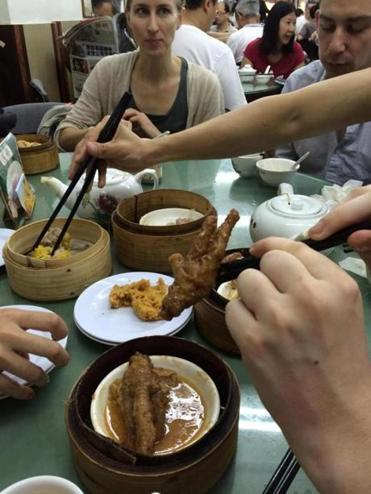 At Lin Heung Tea House In Hong Kong The Dim Sum Includes Above