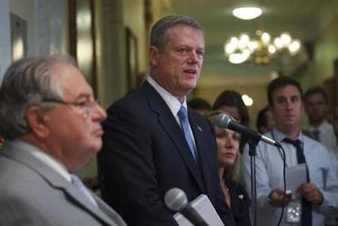 """I'm not going to question whatever decision the USOC makes,"" Governor Charlie Baker said Monday afternoon, before the formal announcement."